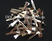 100 PINCH ALLIGATOR Clips Single prong for Hair Bows and Clippies