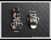 DIY Shoe Clip Finding Blanks (16) 8 pairs