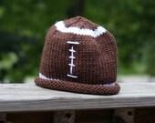 Football Beanie Stocking Hat Fall Season NFL Winter Cap or Photo Prop