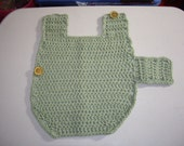 pattern-SMALL DOG(cat) SWEATER in Frosty Green
