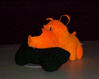 SALE-Crocheted Dog Bone