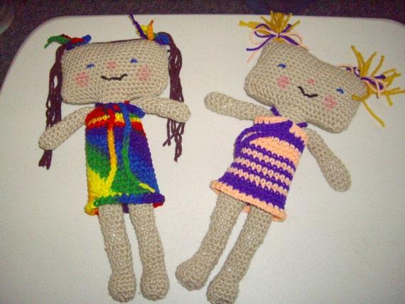 pattern-Hammer head Doll
