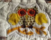 Owl and Farm Car Quilt