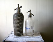 Seltzer Bottle New York Seltzer Water Co. Vintage Antique - Sale was 40