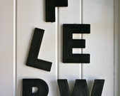 Large Vintage Letters 8 Inches Black Movie Marquee Many To Choose From Pick One
