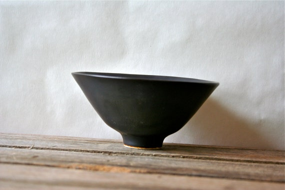 Carl Harry Stalhane Rorstrand Sweden Modern Bowl 1950s Studio Pottery