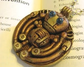 Ladies' Mechanical Companion - Steampunk Pendant