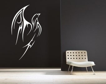 25% OFF Entire Store!! 1 Day Only!  Use Coupon Code 25SALE  Tribal Phoenix Wall Decal
