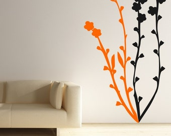 Flower Blossoms Vinyl Wall Decal Sticker