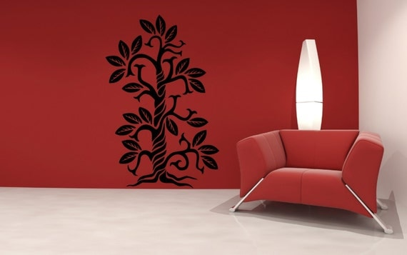SALE. 50% OFF. 1 Day Only. Use Coupon Code CYBER50 Swirl Tree Wall Decal