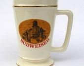 Vintage Budweiser Brew House 1892 Stein
