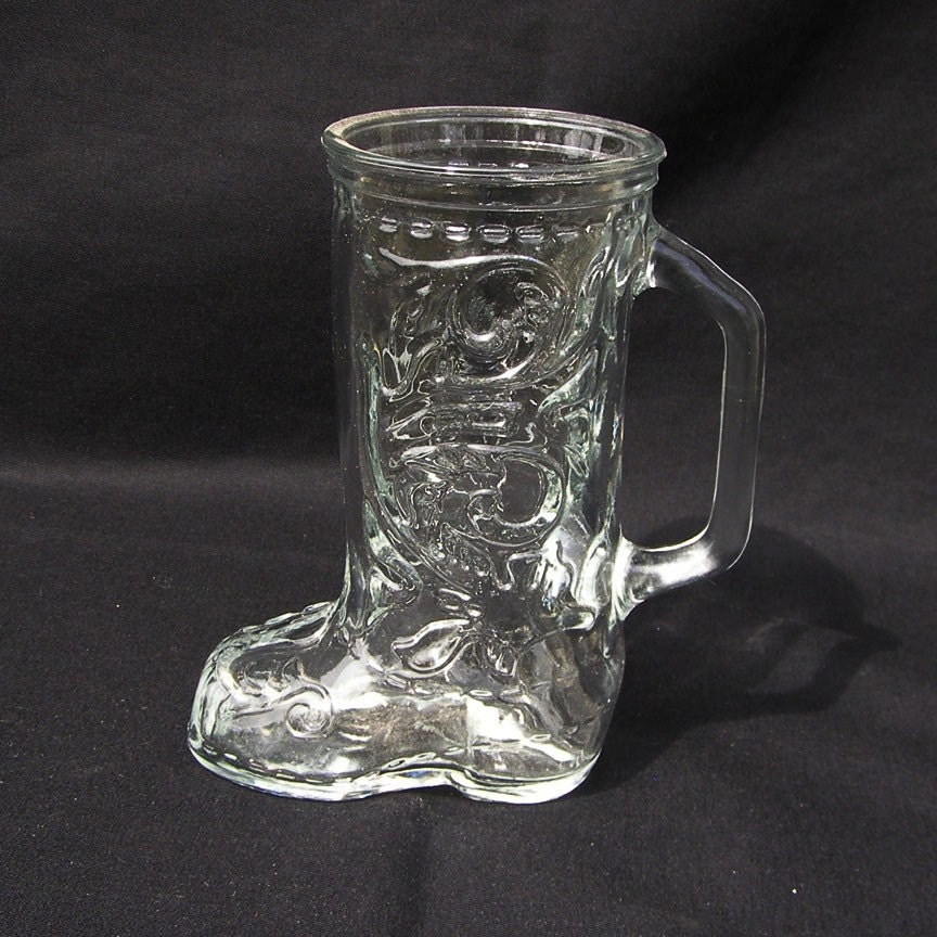 Vintage Glass Mugs 60