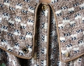 On Hold for Beth Enright Chunky Knit Coat