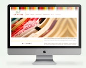 Colorful Customizable 5 Page Web Design with Blog l CMS Included So you can easily update your site