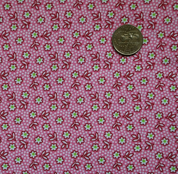 SALE - Little Pink Floral Dot, Toybox II