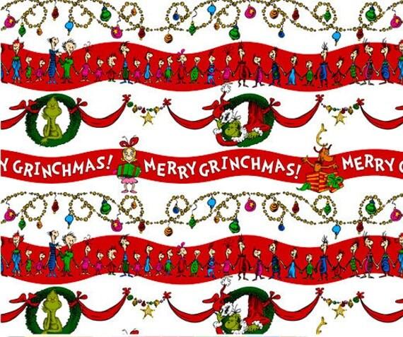 Merry Grinchmas Stripe, How the Grinch Stole Christmas