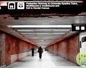 Spadina Subway Station - 8x10