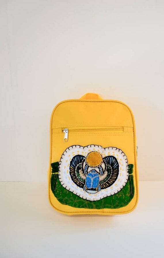 Winged Scarab Backpack
