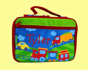 Personalized Stephen Joseph TRANSPORTATION Lunchbox