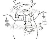 Monsieur Bonhomme de neige 001