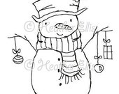 Mr Snowman 001