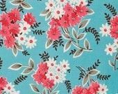 Flea Market Fancy by Denyse Schmidt - 1/2 Yard Bouquet in Turquoise