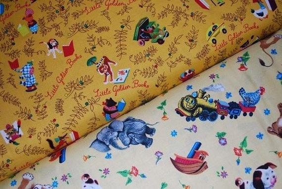 Little Golden Book Fabric From Quilting Treasures Yard Set