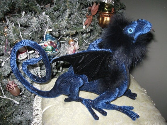 Skye - Dragontry-Soft-sculpture Reaper Dragon