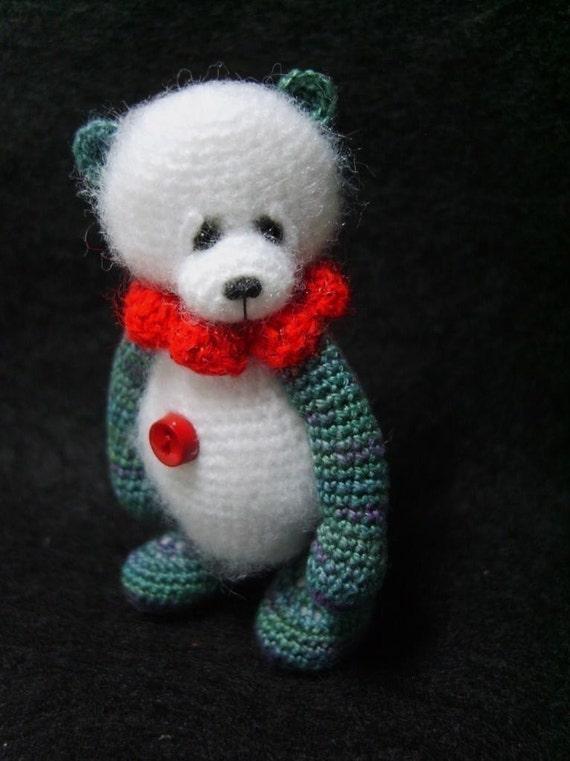 Miniature Crochet THREAD ARTist Panda Mini Teddy Bear Pattern PDF