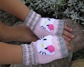 Childs fingerless gloves in 3 sizes Kids favourite