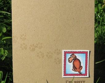 Pet Sympathy Card - Dog Sympathy Card - Pet Loss - Pet Death