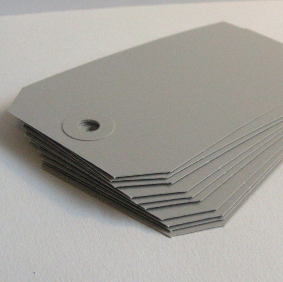 Shipping Tags, Gray Tags, Grey Tags, Gray Shipping Tags, Labels, Home Organization, Tags, Packaging, Art Supplies, Packaging Supplies