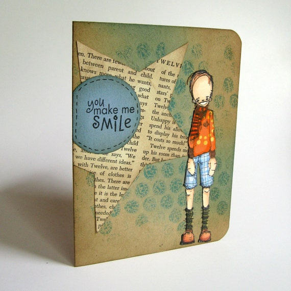 Greeting Card - Thinking of You - Card for Boys