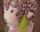 Akiak - Art doll ooak pure sculpt fantasy creature