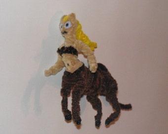 Fuzzy Figures - Female Centaur