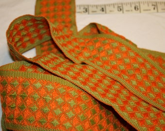 Green and Orange Trim