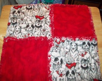 SALE-Baby/Toddler Rag-Security Blanket/Wooby/Drag-along/Blankie/Puppies-Free Us Shipping