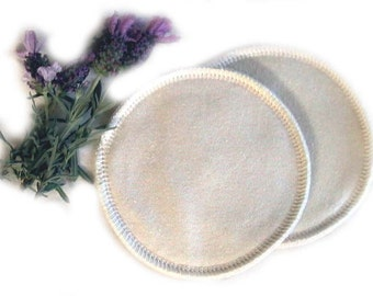 Born of Nature Hemp \/ Organic Cotton Breastpads 3 Pk