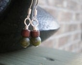 Through the Forest. Super Simple Earrings.