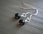 Noir. Super Simple Earrings.