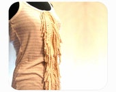 SALE  Nautical Rope Tassel Tank for Women and Girls Size Large