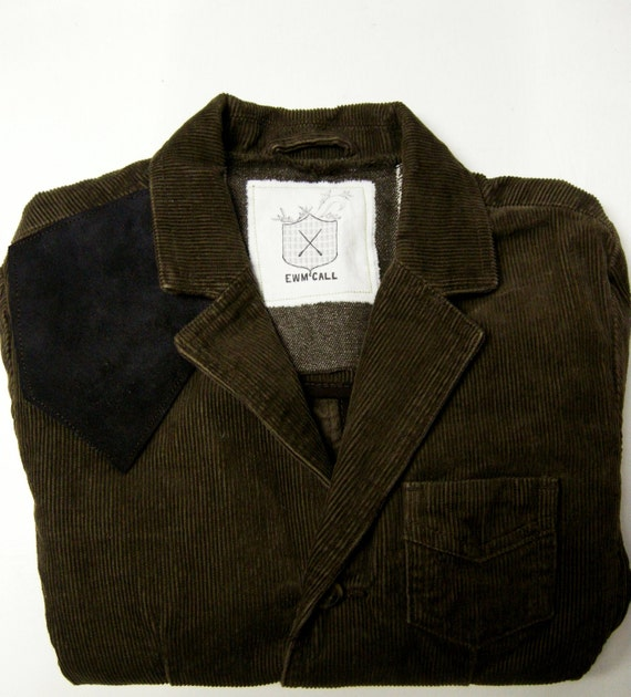 Boys Curduroy Blazer with Leather Shoulder Patch Size 6 from the John Richard Line for Boys