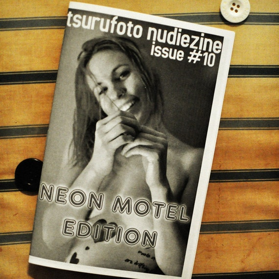 CLEARANCE - NUDIEZINE Issue No. 10: Neon Motel Edition - MATURE