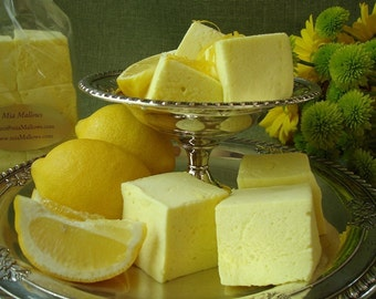 18 Gourmet Lemon Marshmallows
