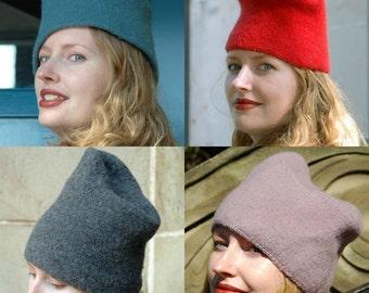 Reboux felted hat pattern