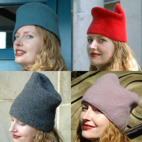 Reboux felted hat pattern
