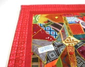 Vintage Wall Hanging Neck Tie - Quilt Ready to Hang