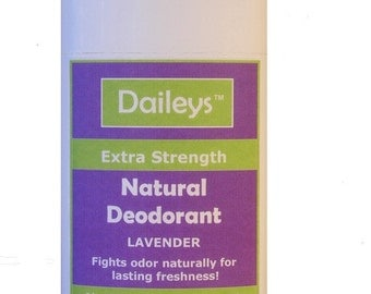 Lavender Natural Deodorant - Extra Strength for Lasting Freshness - Made for Sensitive Skin