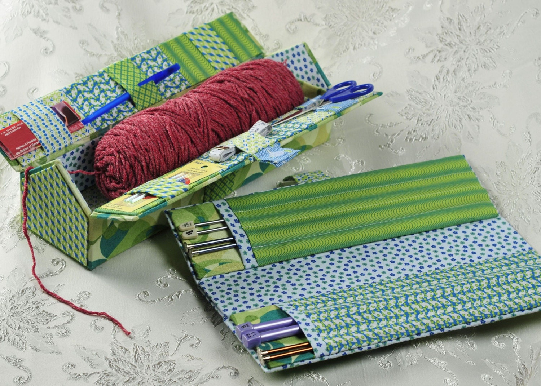 How To Store Knitting Needles : Knitting needle storage box