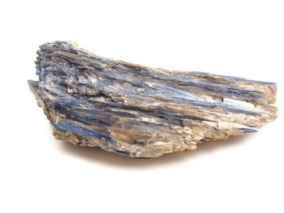 Huge Blue Kyanite Crystal, Rough Natural Gemstone from Brazil, Weighs 1 lb. 1oz. (481.9 grams), Metaphysical, New Age, Reiki Healing